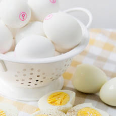 Hard Boiled Eggs Three Ways