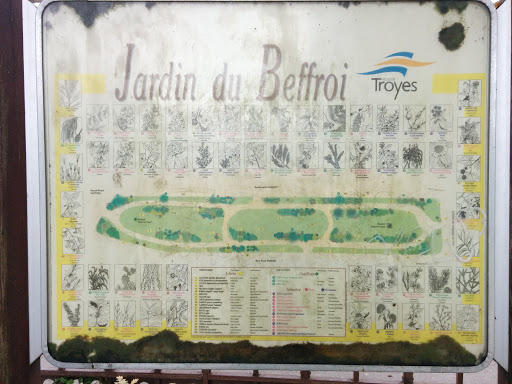 Troyes, Jardin Du Beffroi