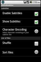 Screenshot of AudioBookBox