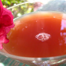 French Chambord Martini