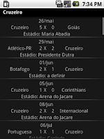 Screenshot of Noticias do Cruzeiro