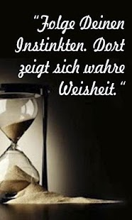 Motivational Quotes - German- screenshot thumbnail