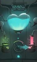 Screenshot of Love Lab GO Locker Theme