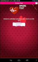 Screenshot of Amore Test