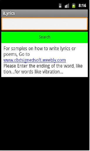 iLyrics