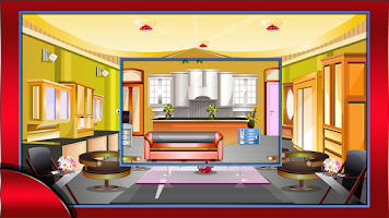 Screenshot of Stylish living room escape