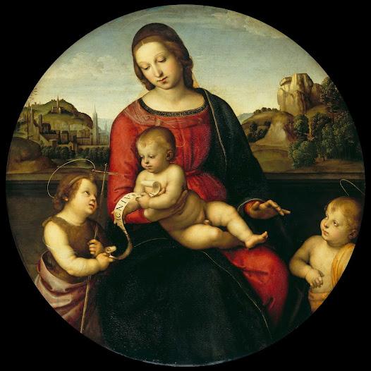 Raffaello, Madonna terranuova
