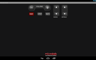 Screenshot of Microlab Remote for KitKat