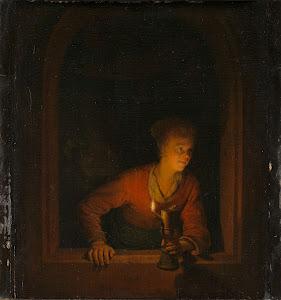 RIJKS: Gerard Dou: painting 1675