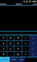 Screenshot of CalcTab Scientific Calculator