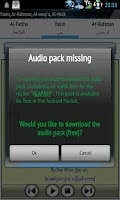 Screenshot of Audio Pack (Ahmad Al-Ajamy)