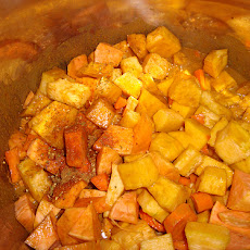 Butternut Squash & Sweet Potato Curry