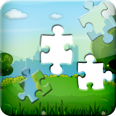 Cartoon Jigsaw Puzzle: Iq Test APK Icon