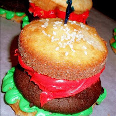 Hold the Beef Burger Cupcakes