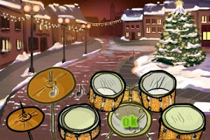 Screenshot of Hit the Drums Christmas