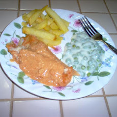 Creamy Baked Fish Fillets