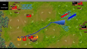 Screenshot of Napoleonics: Quatre Bras DEMO