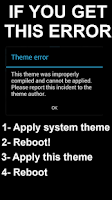 Screenshot of Black Infinitum Theme - Dark
