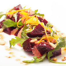 Beet and Citrus Salad with Pinenut Vinaigrette