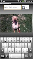 Screenshot of Fast Photo Notes