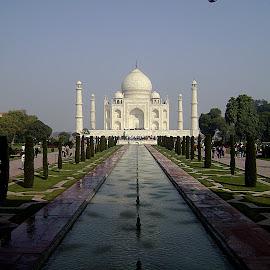 Waah, Taj. by Kartik Saboo - Buildings & Architecture Statues & Monuments ( uttar, taj, pradesh, mahal, agra, india,  )