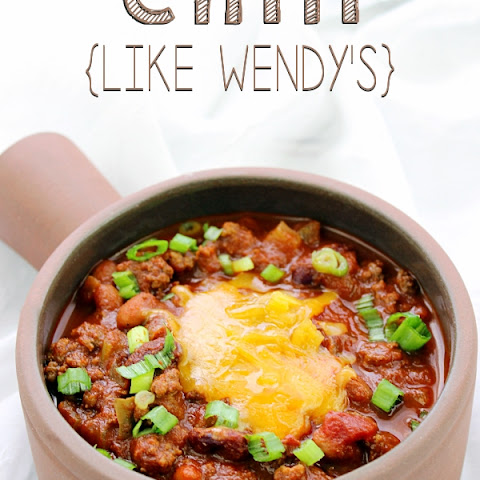 Chili - Like Wendy's