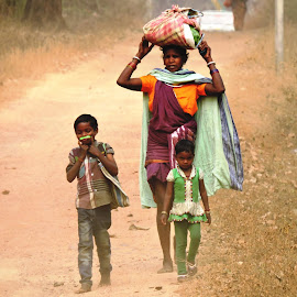 Maa... by Palash Bhattacharya - People Family