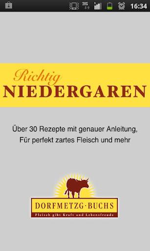 Niedergaren - Slow Cooked Meat