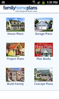Screenshot of House Plans by FamilyHomePlans