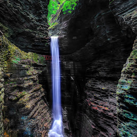 by Peter Chien - Landscapes Waterscapes ( new york, watkins glen state park )
