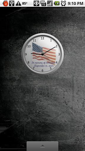 Sept. 11th Analog Clock