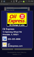 Screenshot of Oil Express