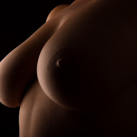 Just big Boobs by Tomas Fensterseifer - Nudes & Boudoir Artistic Nude ( bodypart, nude, low key )