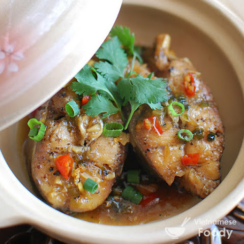 Vietnamese Clay Pot Braised Catfish (Cá Kho Tộ)