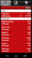 Screenshot of Georgia Radio & Live Scores
