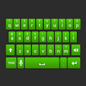 Green Galaxy Keyboard Skin