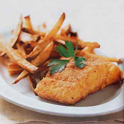 Crispy Oven-Fried Cod