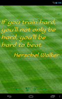 Screenshot of Athletes Quotes