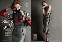 Vogue Australia Photography Christian MacDonald, Stylist Lindsay Frugier, Makeup Mariel Barrera