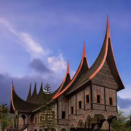 rumah gadang by Bramantya Wardana - Buildings & Architecture Public & Historical