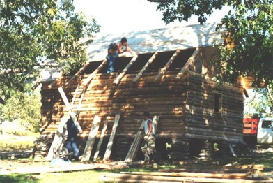 Building the cabin (3)