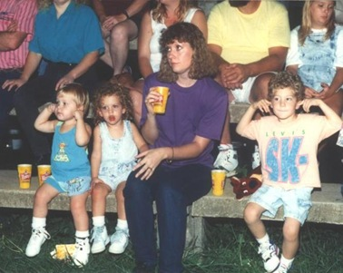 Kids at the County Fair 1992ish