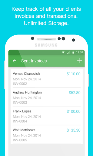 Smart Invoice: Email Invoices - screenshot