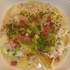 Easy Crab Chowder