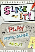 Screenshot of Slice it! DX