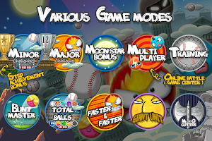 Screenshot of Flick Home Run! baseball game
