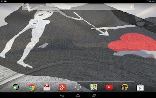 Screenshot of Pirate Flag Live Wallpaper