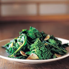 Sautéed Broccoli Rabe with Garlic, Anchovies and Red Pepper Flakes