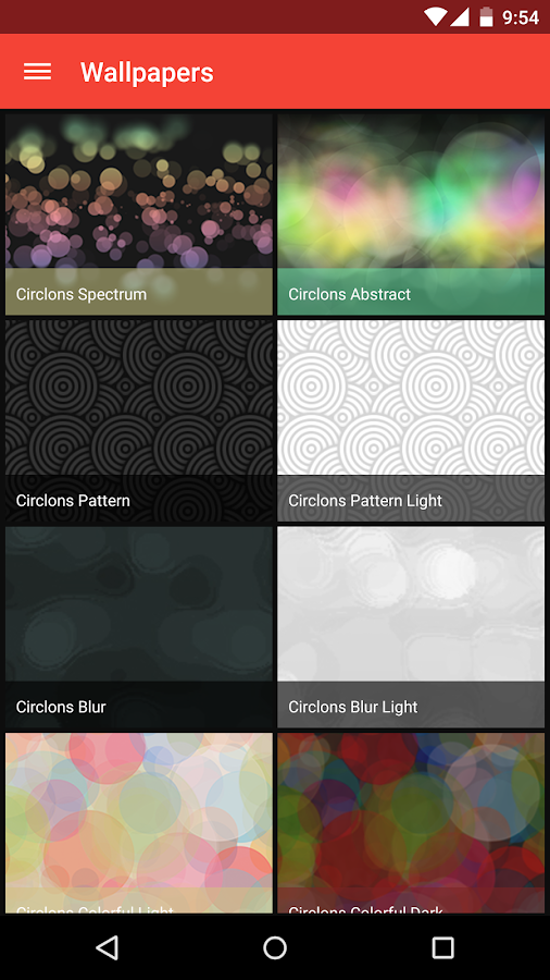 Circlons - Icon Pack Screenshot 3