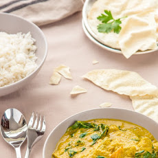 Golden Vegetable Curry